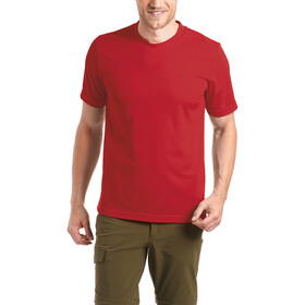 Maier Sports Walter T-shirt Heren, salsa